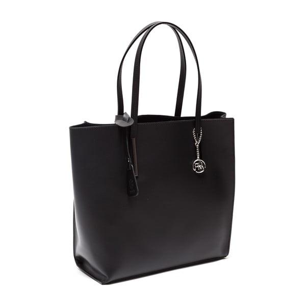 Kožená kabelka Fulvia, černá
