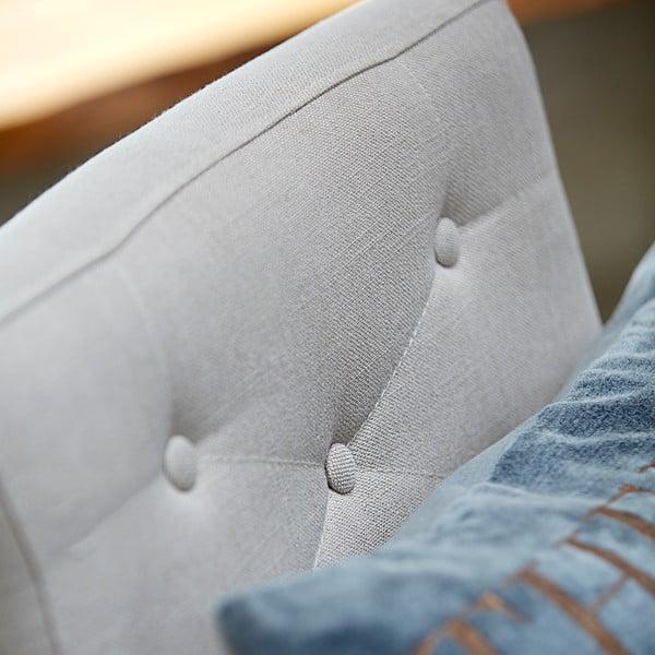 Židle Canett Twitter Chair s opěrkami, tmavé nohy