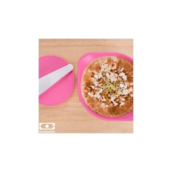 Recipient pentru salate și supe Monbento MB LIB Pink/White