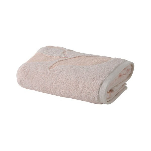 Světle růžový ručník z bavlny Bella Maison Camilla, 50 x 90 cm