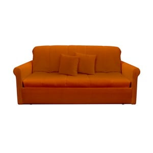 Canapea extensibilă cu 3 locuri 13Casa Greg, portocaliu
