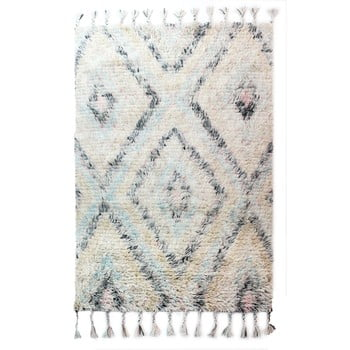 Covor țesut manual Flair Rugs Navajo, 120 x 170 cm, bej deschis de la Flair Rugs