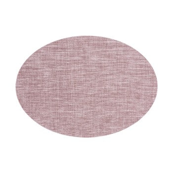Suport pentru farfurie Tiseco Home Studio Oval, 46 x 33 cm, roz mov de la Tiseco Home Studio