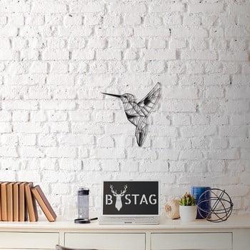 Decorațiune din metal pentru perete Hummingbird, 49 x 43 cm