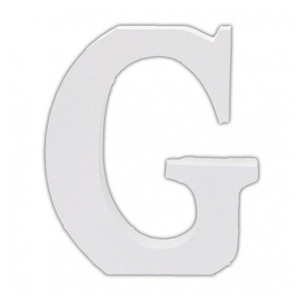 Dřevěné písmeno G