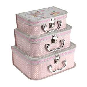 Sada 3 kufříků Cake Design