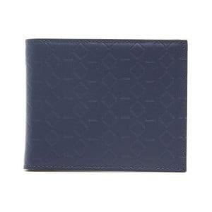 Tmavě modrá kožená pánská peněženka Alviero Martini Navy Duro