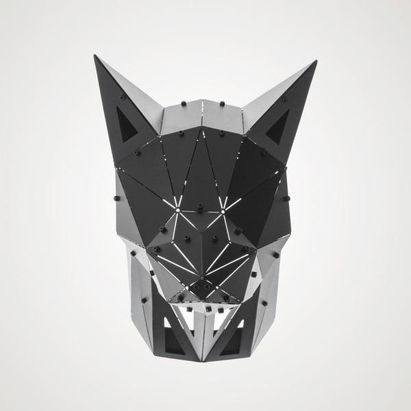 Černá kovová závěsná dekorace vhodná i do exteriéru Geo Fox