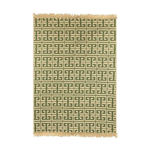 Covor Ya Rugs Tee, 80 x 150 cm, verde