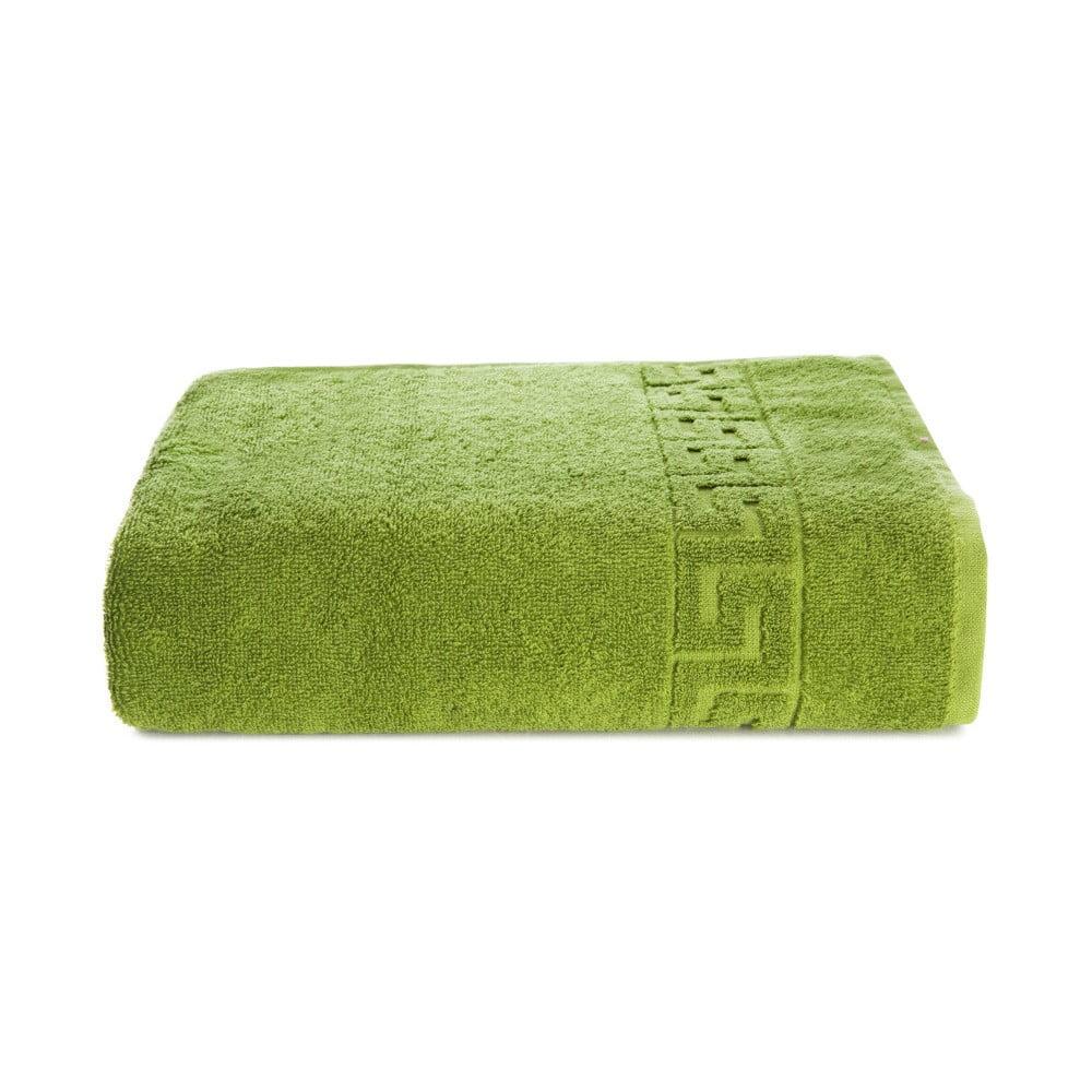 Zelený bavlněný ručník Kate Louise Pauline, 50 x 90 cm