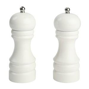 Sada 2 bílých mlýnků na pepř T&G Woodware Capstan