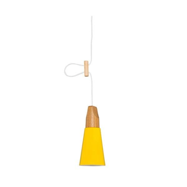 Žluté stropní svítidlo Homemania Tomas