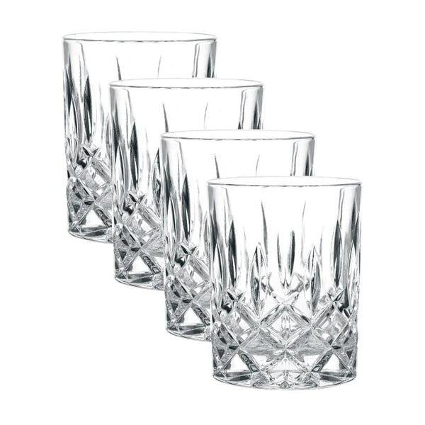Sada 4 sklenic na whisky z křišťálového skla Nachtmann Noblesse, 295ml