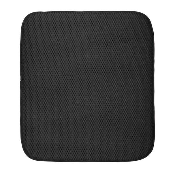 iDry fekete alátét nedves tárgyak alá, 18 x 16 cm - iDesign