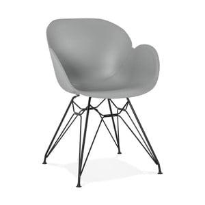 Šedá jídelní židle Kokoon Umela