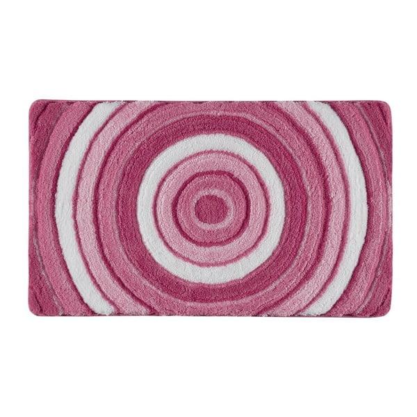 Koupelnová předložka Efesus Pink, 60x100 cm