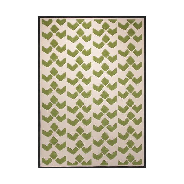 Koberec Esprit Bauhaus Green, 140x200 cm