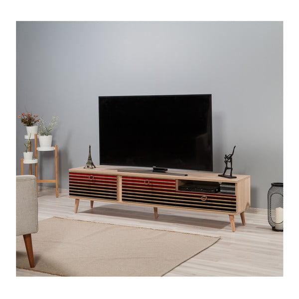 TV stůl Stella Red Classic, šířka 46 cm