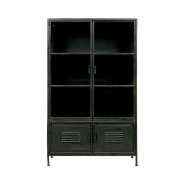 Černá komoda se 4 zásuvkami De Eekhoorn Dennis