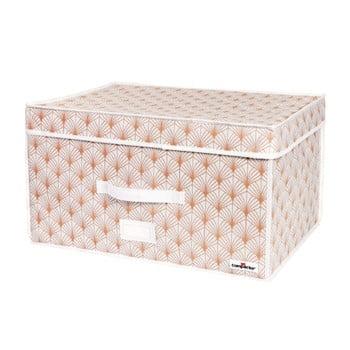 Cutie de depozitare cu vid pentru haine Compactor Signature Blush, 150 l