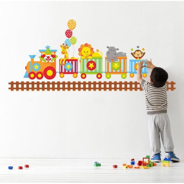Samolepka na stěnu Vlak, 50x70 cm