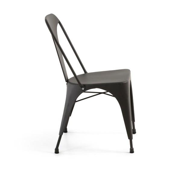 Židle Malibu grafitově šedá