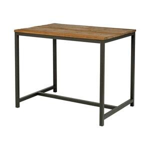 Barový stolek s deskou z jilmového dřeva Interstil Vintage
