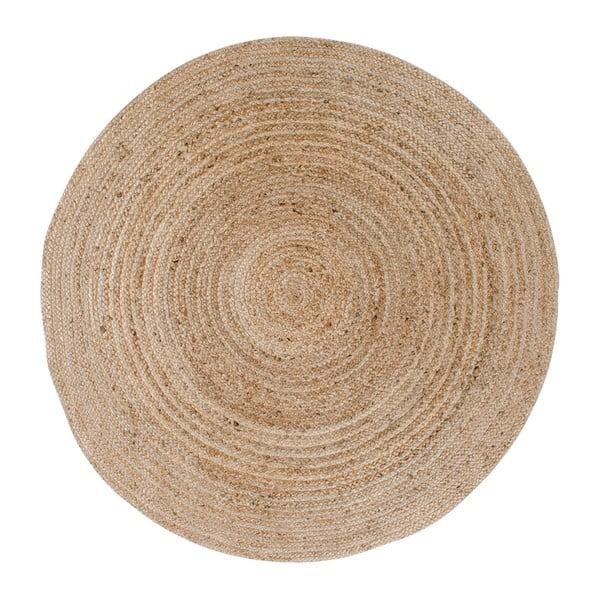 Jasnobrązowy okrągły dywan House Nordic Bombay, ø 180 cm