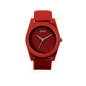 Hodinky Spring XL, červené
