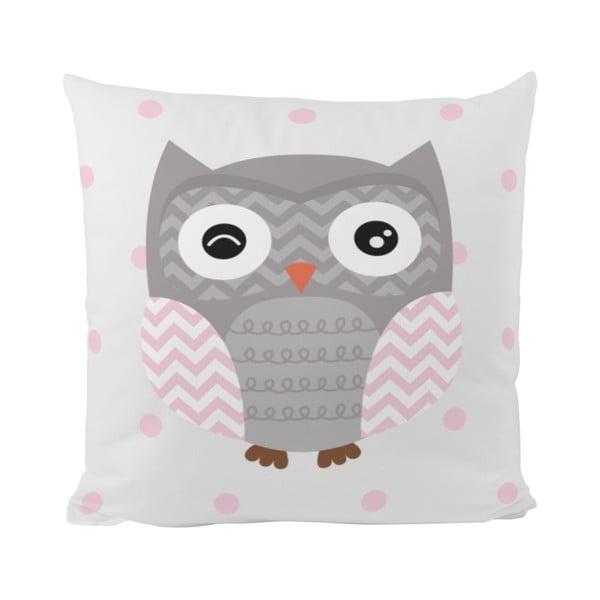 Polštář Striped Owl, 50x50 cm