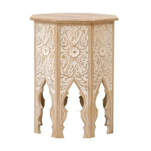 Příruční stolek  z mangového dřeva Massive Home Sweet