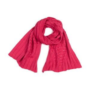 Šála Plain Pink