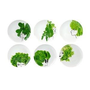 Sada 6 salátových misek Le Studio Mes Petites Salades Plates, ⌀ 25 cm