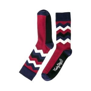 Barevné ponožky Funky Steps Wave, velikost 39 – 45