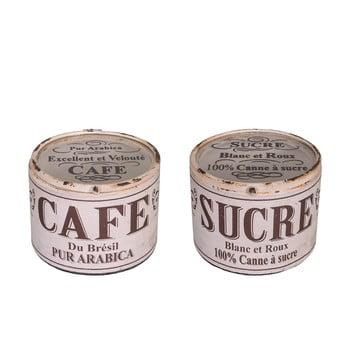 Set 2 recipiente Antic Line Cafe Sucre de la Antic Line