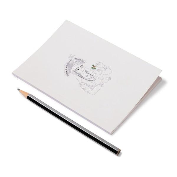 Zápisník Noe Nawab Royally Hers, A6