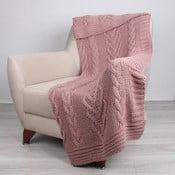 Růžová deka Homemania Tuti,170x130cm