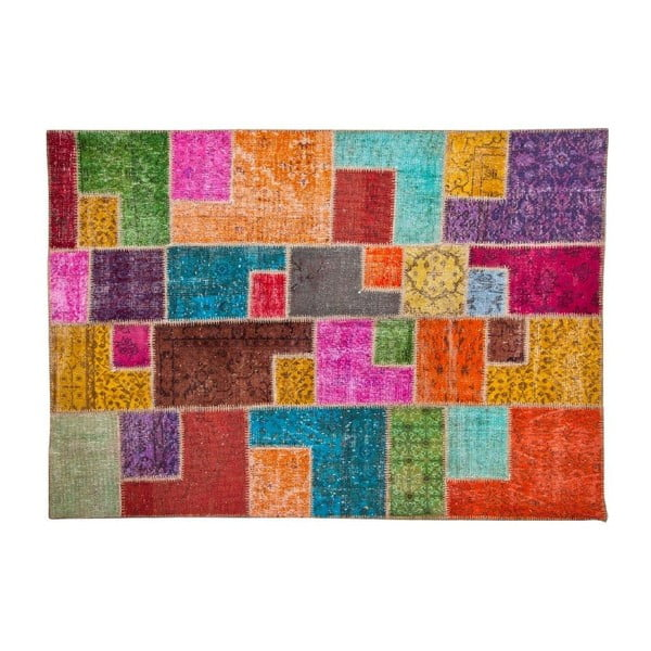 Vlněný koberec Allmode Multi, 180x120 cm