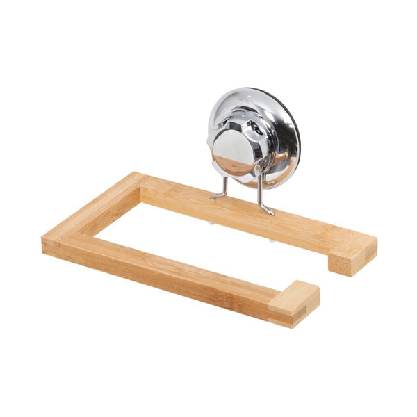 Bambusový nástěnný držák na toaletní papír Compactor
