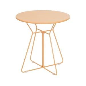Žlutý odkládací stolek Ixia Garden