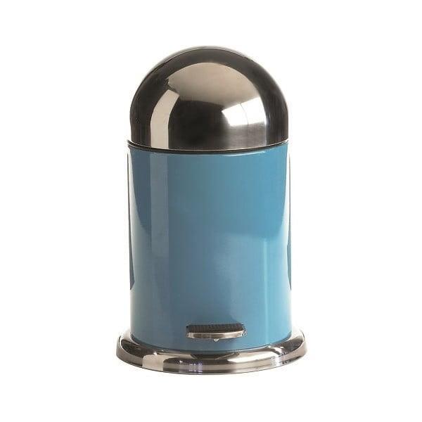 Modrý pedálový koš Galzone, 3 litry