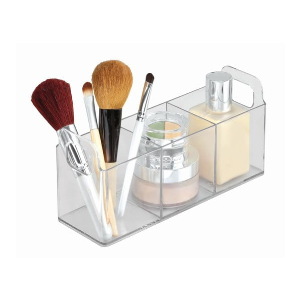 Organizator transparent iDesign Vanity Catch, 23 x 7,5 x 10 cm