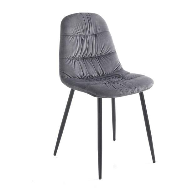 Sada 4 šedých jídelních židlí Tomasucci Fluffy