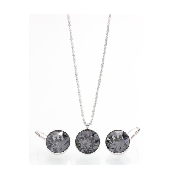 Set náhrdelníku a náušnic se Swarovski Elements Laura Bruni Kymijoki