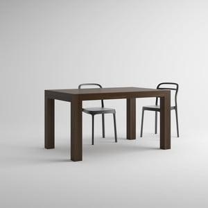 Rozkládací jídelní stůl v dekoru ořechu MobiliFiver Iacopo, délka140-220cm