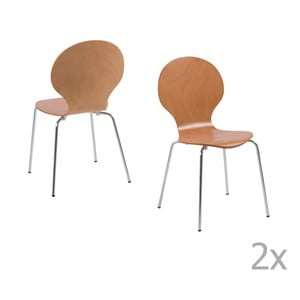 Set 4 scaune Actona Marcus, natural