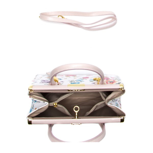 Kožená kabelka Fero, barevná