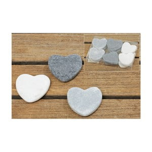 Set 12 confetti inimi decorative Boltze Heart