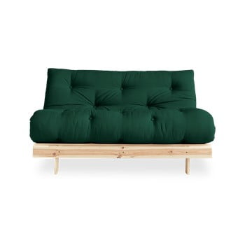 Canapea extensibilă Karup Design Roots Raw/Forest Green de la Karup Design