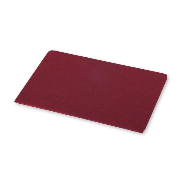 Červený zápisník v obálkové vazbě Moleskine Postal L